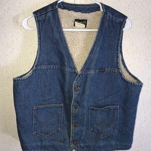 Men's Jean Vest